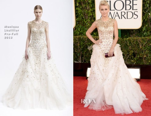 Julianne-Hough-In-Monique-Lhuillier-2013-Golden-Globe-Awards